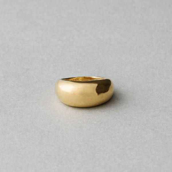 Plain ring / 18KGP